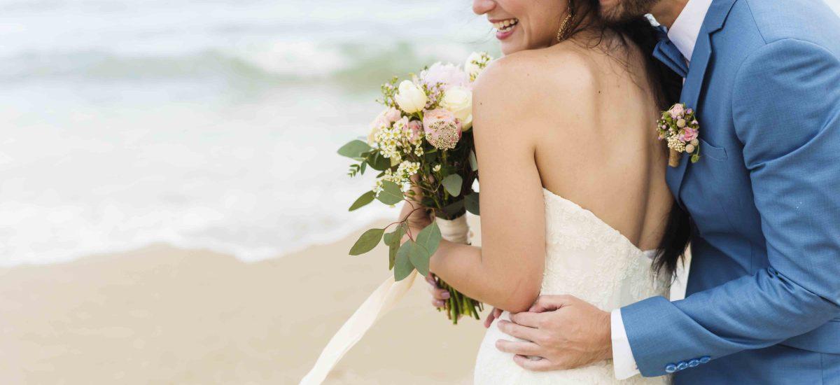 Casarse con una gran sonrisa