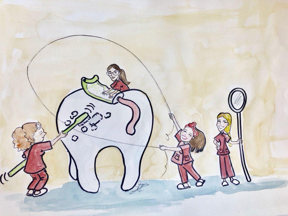 La importancia y el uso del hilo dental